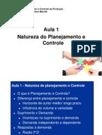 Aula 01 - Introdução ao PPCP