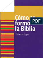 Cómo se formó la Biblia