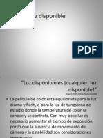 (5)Luz Disponible