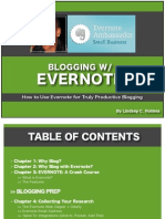 Blogging With Evernote - How To Use Evernote for Truly Productive Blogging
