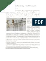 Presentación de Estados Financieros Bajo Normas Internacionales de Contabilidad