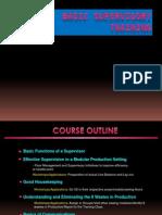 Basic Supervisory Training - Final