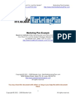 Website Marketing Plan