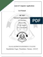 Mc9247 Network Programming Lab Manual(1)