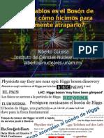 Particula Higgs Tec de Moonterrey Puebla