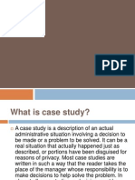 Case Study Analysis