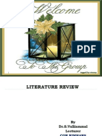 Dr.Valliammal Shanmugam REVIEW of LITERATURE ppt.ppt