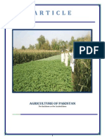 Agriculture Of Pakistan