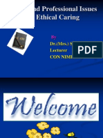 Legal and professional issuses in Ethical nursing.ppt