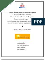 Portfolio Mgt Services