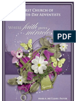 First Church of Seventh-day Adventists Weekly Bulletin (Spring 2013)