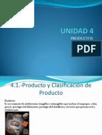 Unidad 4 Productos
