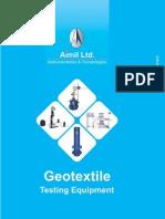 03 Geotextile Testing Range