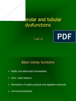 27Glomerular and Tubular Dysfunctions