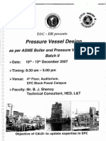 Pressure Vessel Design (CALD Series II Training Material)
