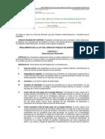Reglamento de la Ley del Servicio Público de Energía Electrica