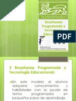 2 Enseñanza Programada y Tecnología Educacional