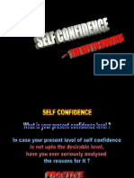 Selfconfidence the Key to Success