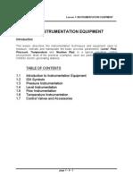 L1 Instrumentation CANDU