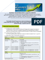 Guide to 2013 Budget Measures for SMEs