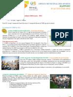 Rapport d'activité OMS 2012