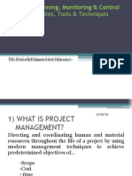 01 - Introduction to Project Planning, Monitoring