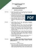 Kepmen 07-2002 Tentang Nomor Kode Lokasi Dan Nomor Kode Barang Daerah PropinsiKabupatenKota