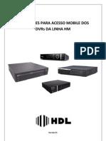 Manual Mobile Dos Dvrs Da Linha Hm