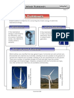 Wind Turbine Types