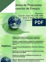 Oportunidades de Proyectos de Energia