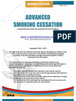 Advanced Smoking Cessation Hypnosis Script