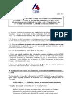 Commentaires CGPME Sur La Feuille de Route Sociale de La Conference Sociale Des 9 Et 10-07-12