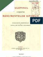 Buletinul Comisiunii Monumentelor Istorice, anul 1913, VI