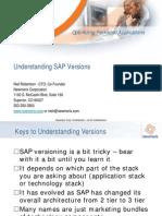 SAP Versions