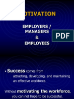 Motivation Employers Employees