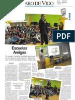 Escuelas Amigas en el Faro de Vigo