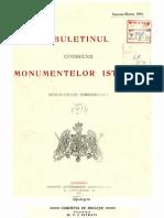 Buletinul Comisiunii Monumentelor Istorice, anul 1914, VII