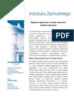 Brygida Solga, Migracje zagraniczne a rozwój i regionalna polityka migracyjna
