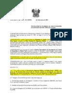PORTARIA Nº 069 Cria força-tarefa de investigação aos crimes de homicídios com autoria desconhecida e indícios de execução