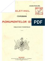 Buletinul Comisiunii Monumentelor Istorice, anul 1915, VIII