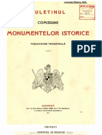 Buletinul Comisiunii Monumentelor Istorice, anul 1916, VIII