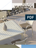 Catalogue mobilier outdoor Roland Vlaemynck