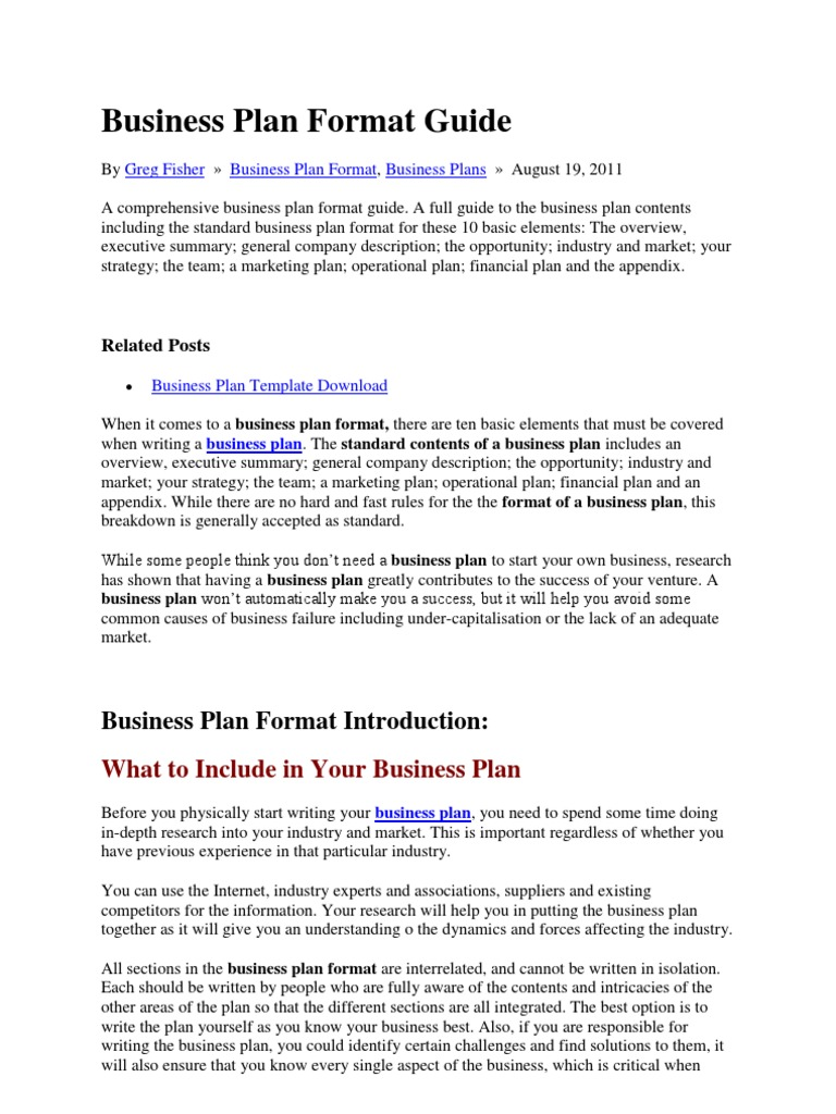 Business plan format guide vrushali income statement strategic business plan format guide vrushali income statement strategic management accmission Image collections