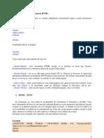Curs 1 - Structura Unui Document HTML