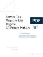 Service Tax Guide 2013