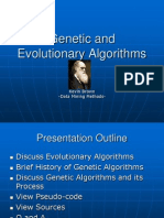 Brown Genetic and Evolutionary Algorithms