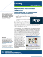 Combined Heat and Power Application Tool Fact Sheet