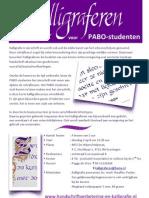 info beg cursus pabo april 13