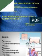Tc (Valori Fisiologici)