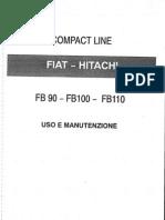 Manual Del Oparador Fiat Hitachi FB110